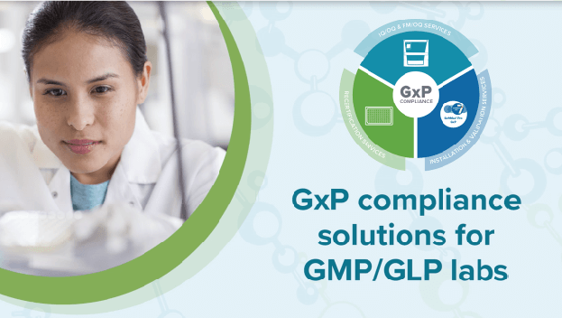 GxP compliance solutions for GMP-GLP labs